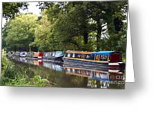 River Wey Navigation Greeting Card