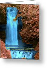 Rivers Of Living Water Greeting Card