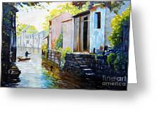 Riverscape Greeting Card