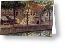 Riverside Walk  Greeting Card
