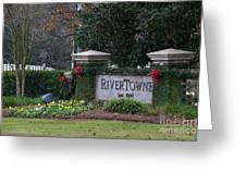 Rivertowne Greeting Card