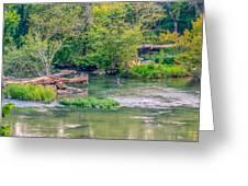 Riverwalk Park II Greeting Card