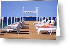 Riviera Dreaming Greeting Card by Michael Swanson