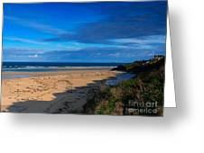 Riviere Sands Cornwall Greeting Card