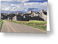 Road From Interior Greeting Card