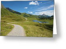 Road In The Mountains Greeting Card