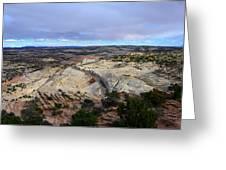Road Over Slick Rock Greeting Card