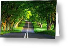 Road Pictures Greeting Card
