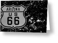 Road Sign 2 Greeting Card