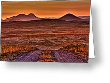 Road To Edna Valley Greeting Card