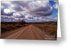 Road To Fillmore Greeting Card