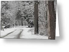 Road To Grandma's House Greeting Card
