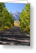 Road To Happiness Greeting Card