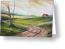 Road To Heaven  Greeting Card by Jolyn Kuhn
