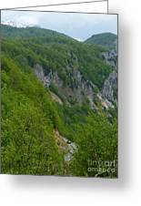 Road To Savnik - Montenegro Greeting Card