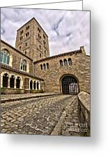 Road To The Gatehouse - In Color Greeting Card