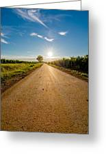 Road To The Sun Greeting Card