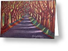 Road To The Unknown Greeting Card