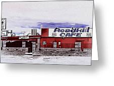 Roadkill Cafe Greeting Card