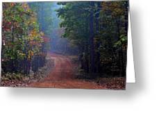 Roads 38b Greeting Card