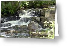 Roadside Falls Greeting Card