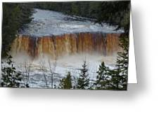 Roaring Falls Greeting Card
