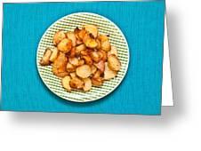 Roast Potatoes Greeting Card