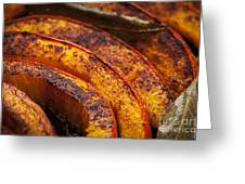 Roasted Pumpkin Greeting Card