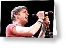 Matchbox 20 - Rob Thomas Greeting Card