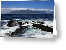 Robben Island View Greeting Card