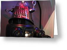 Robby The Robot 1956 Greeting Card