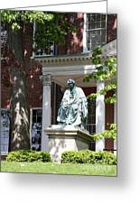 Robert Brooke Taney Statue - Maryland State House  Greeting Card