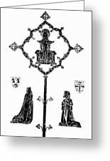 Robert De Paris And Widow Greeting Card