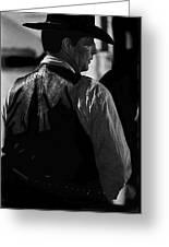 Robert Mitchum Young Billy Young Set Old Tucson Arizona  Greeting Card
