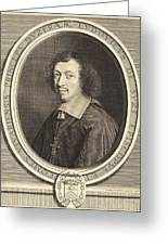 Robert Nanteuil French, 1623 - 1678, Louis-francois De La Greeting Card