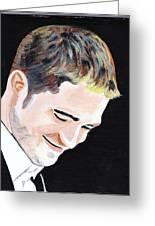 Robert Pattinson 121 Greeting Card