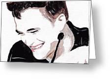 Robert Pattinson 184 Greeting Card