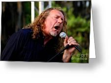 Robert Plant 2 Greeting Card