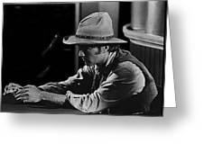 Robert Walker Jr  The War Wagon Homage 1967 Greeting Card