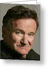 Robin Williams Portait Greeting Card