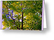 Robinia Frisia Greeting Card