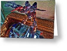 Robo Man Greeting Card