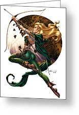 Robyn Hood 01h Greeting Card by Zenescope Entertainment