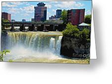 Rochester At High Falls Greeting Card