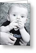 Rock A Bye Baby Greeting Card