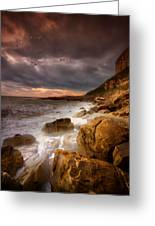 Rock - A - Nore Greeting Card by Mark Leader