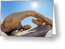 Rock Arch Greeting Card