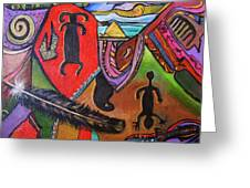 Rock Art Of Nevada Greeting Card