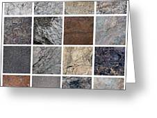 Rock Background. Greeting Card