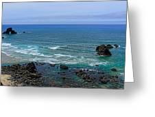 Indian Beach Greeting Card